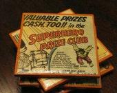 Vintage Comic Ceramic Coasters - Comic Book Advertisements