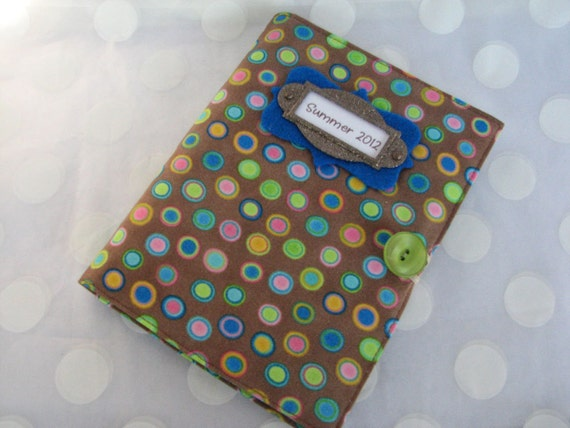 Bright Polka Dots Photo Album Personalized Brag Book with 48 Pages