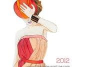 2012 Fashion Illustration Calendar