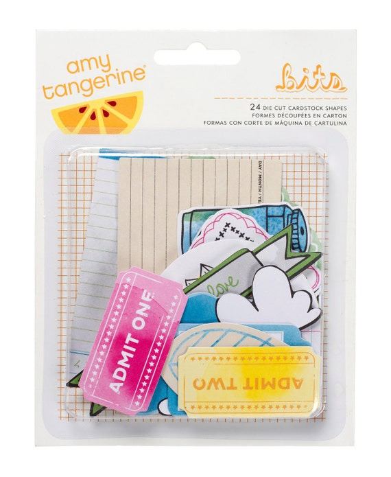 Amy Tangerine Sketchbook Bits Die Cut Shapes - By American Crafts