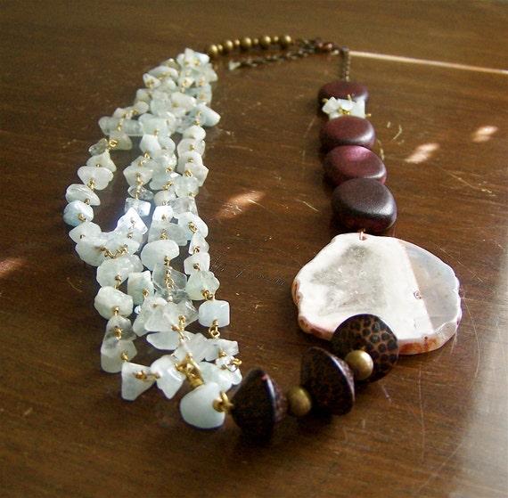 Tides ...  necklace  - for Dena