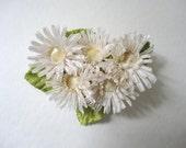 Daisy Flower Hair Clip, Vintage Boho