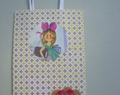 Little Girl and Flower Gift Bag