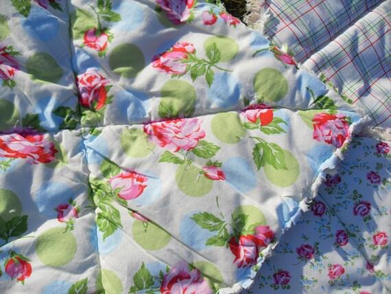 Tanya Whelan Rag Picnic Blanket Outdoor Rug with 2 Floor Mats Etsy UK