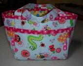 You Choose! Wonderful Custom Made Gift, Toy Bag, Sm Diaper Bag,  Organizer,  Travel Activity Bag