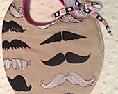 Disguised as Cute Mustache Bib