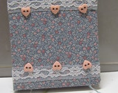 """Hand crafted Sketch Journal. """"Dainty Little Thing."""""""