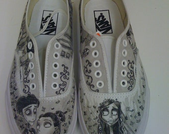 Corpse Bride Custom Made Shoes