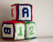 Crochet Number and Letter Blocks Patterns (A - Z, 0 - 9)