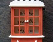 Miniature Dollhouse Hutch - Wall hanging