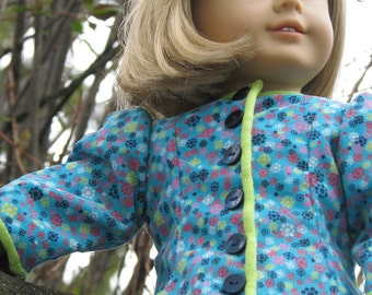 american girl doll jacket: poesy
