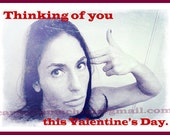THINKING OF YOU - Valentine's Day Card