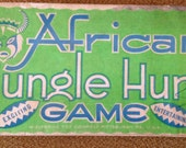 Wolverine Toy Company - Africa Jungle Hunt Bagatelle/Pinball game