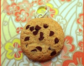 Polymer Clay Chocolate Chip Cookies Pendant