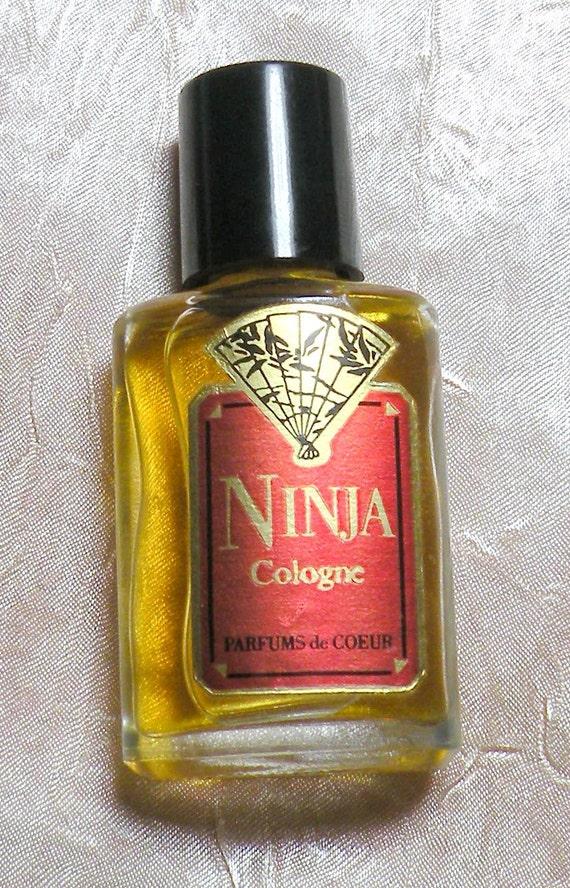 Vintage Ninja Cologne Perfume Ninja Parfums de Coeur 1960s