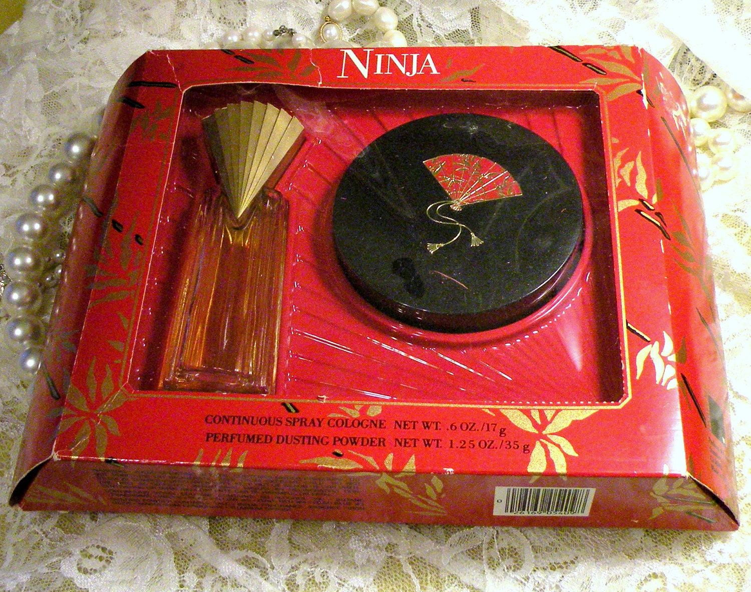Ninja Perfumed Dusting Powder And Spray By Rosepetalresources