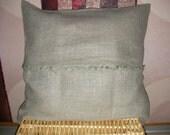 """Decorative 100% linen pillow cover 18""""x18"""""""
