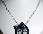 Bride of Chucky necklace