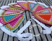 Crochet pattern GARLAND by ATERGcrochet