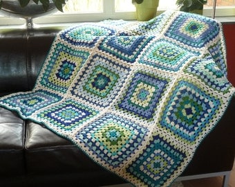 Crochet granny square 'SKY' by ATERGcrochet