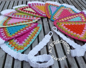 Crochet pattern GARLAND by ATERGcrochet
