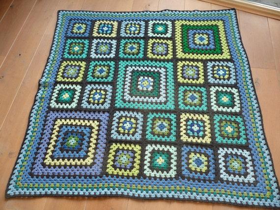 Crochet granny square 'TOUGH' by ATERGcrochet