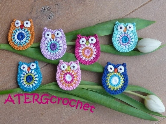 Crochet pattern owl by ATERGcrochet