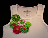 Decorated Summer Tank Top