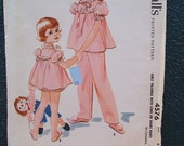 McCalls 4576 Vintage Sewing Pattern 1958 - Size 6 - CHILD