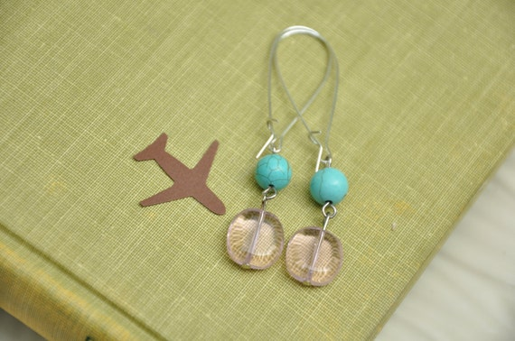 Dangle Earrings- Proper Fashion-SALE
