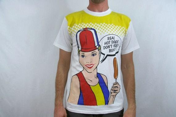 Vintage Hot Dog On A Stick Shirt