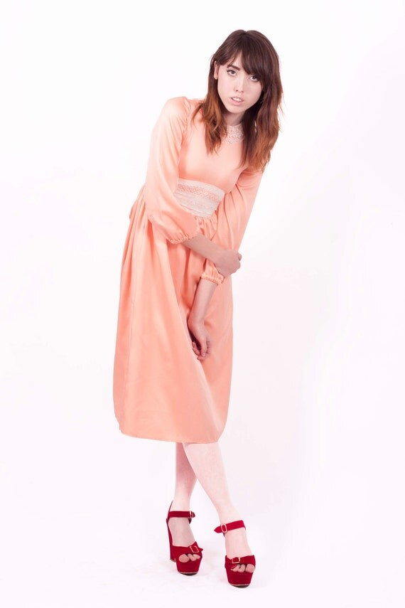 Pretty Peach Dress SALE