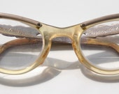 Sassy 50s Vintage Cateye Cat Eye Glasses Rockabilly