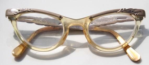 Sassy 50s Vintage Cateye Cat Eye Glasses Rockabilly