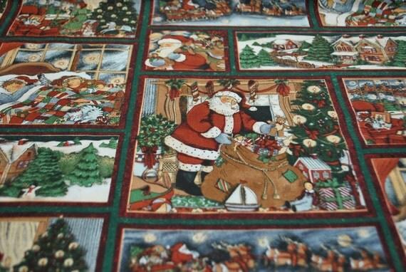 SALE - REMNANT PIECE - Christmas Eve Scenes