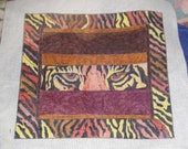 HP Needlepoint Canvas-Funky Tiger Eyes