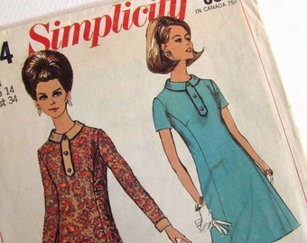 Misses Dress - Simplicity 7194 - Size 14
