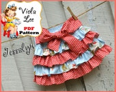 Jessalyn....Girl's Skirt Pattern, Ruffle Skirt Pattern, Infant Mini Twirl Skirt Pattern. Toddler Skirt Pattern. Toddler Sewing Pattern