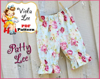Patty... Baby Pants Sewing Pattern pdf, Baby Sewing Pattern, Toddler Pants pdf Sewing Pattern, Infant Pants Pattern, Infant Sewing Pattern