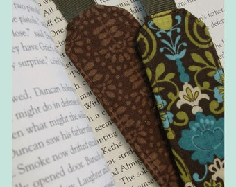 Fabric Bookmark Pattern PDF Instant download easy sew beginner
