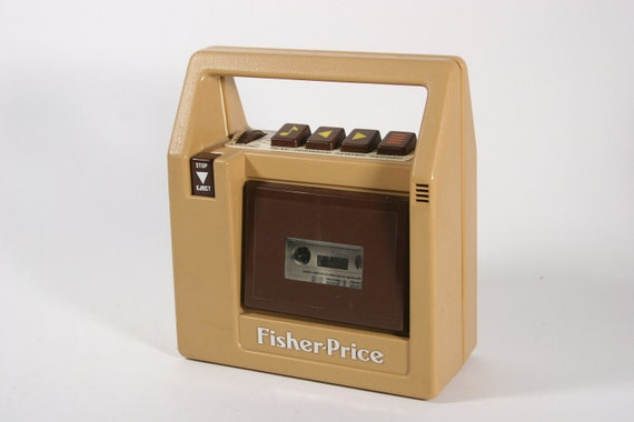 Fisher Price Cassette Player 1980's