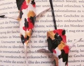 Origami Koi Bobby Pins in Red, Gold, and Black