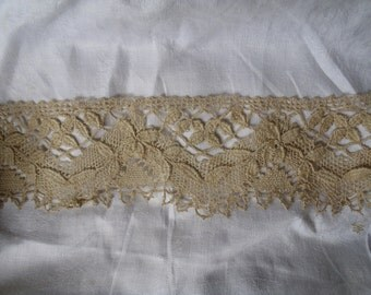 Victorian Floral Raised Lace Trim FREE SHIPPING