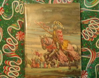 King Arthur and His Knights of the Round Table, 1950, an Illustrated Junior Library Edition