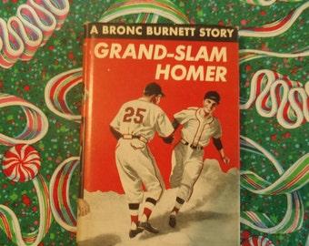 Grand-Slam Homer, A Bronc Burnett Story, 1951 by Wilfred McCormick