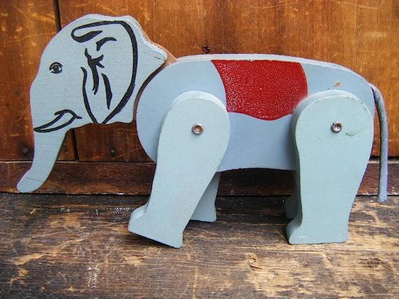 Vintage 1950's Toy Circus Elephant