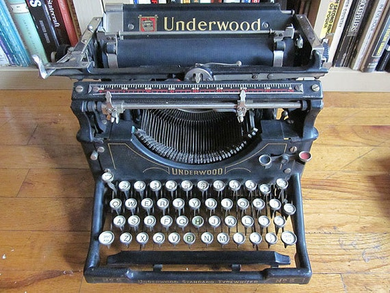 1917 Underwood Model No. 5 Typewriter