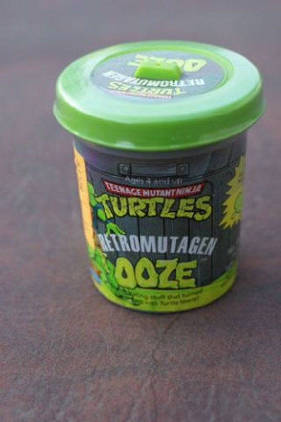 "Teenage mutant ninja turtles retro mutagen ooze 1991 TMNT Slime Recipe make your own ""Plus 100 Kid Recipes included"""