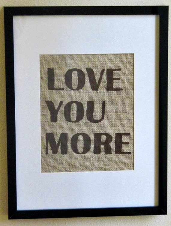Wall Art Love You More : Unavailable listing on etsy