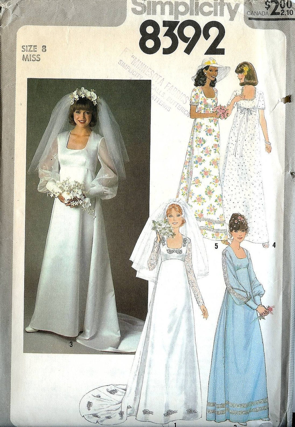 Wedding Dress Patterns Empire Line : Pattern wedding dress empire line with lace by whitestarheart